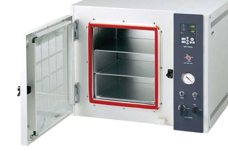 Vacuum drying chambers